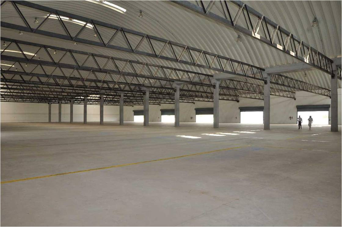 Warehouse Floor (South)